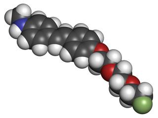 Florbetaben radiopharmaceutical molecule.