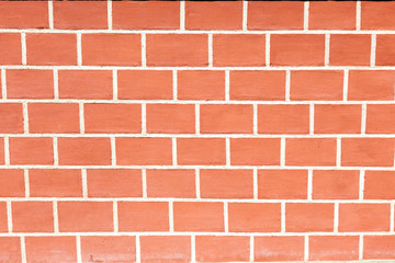 Background of new brick wall