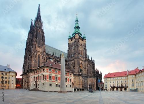 Staande foto Praag St. Vitus cathedral in Prague Castle in Prague