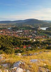 Slovakia village Devin in Bratislava