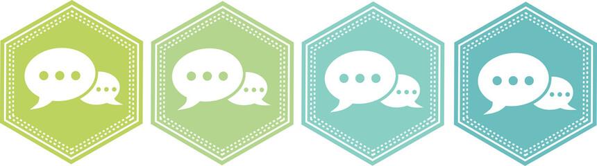 icône dialogue