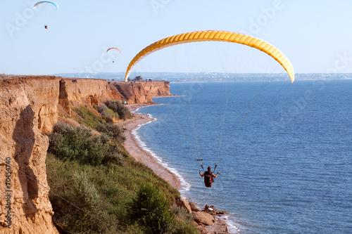 Fototapeta Paragliding