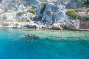 beautiful sea in Turkey