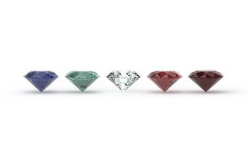 Five Gem Stones