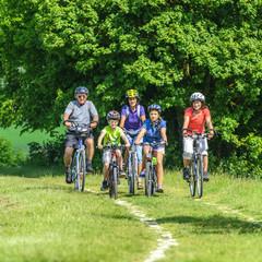 Ausflug ins Grüne mit dem Rad