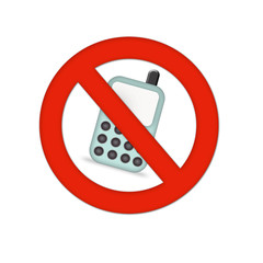 No cell phone sign