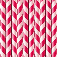 Candy cane seamless pattern
