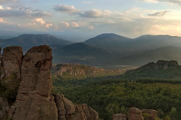 Rocks formation in belogradchik area, Bulgaria, Europe