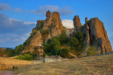 Belogradchik rocks Fortress  Landmark, Bulgaria, Europe