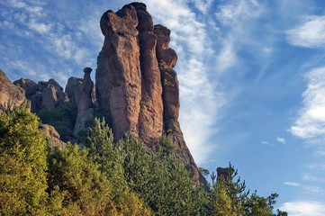 Rocks formation in belogradchik area, Bulgaria, Europe