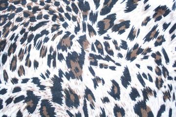 Leopard pattern textile
