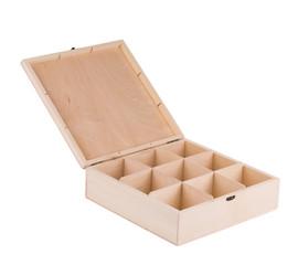 Wooden box for billiard balls.