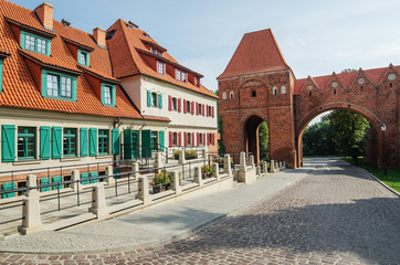 Old town of Torun (Poland)