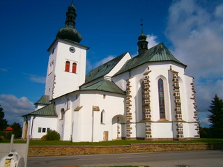 Church in Krizanov, the birthplace of Saint Zdislava