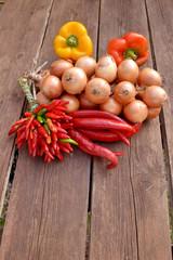 Scharfes Gemüse