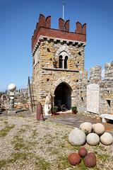 Festungsturm Castello d'Albertis, Genua