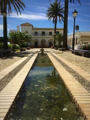 Promenade maurischer Stil in Tarifa