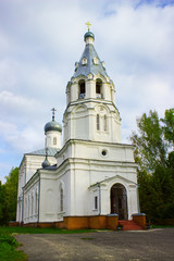 Church of the Transfiguration in the village. Russia