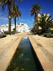 Maurischer Brunnen in Tarifa Andalusien