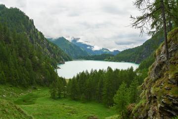 See Lago Alpe dei Cavalli in den Alpen