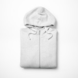 Fototapety White hoodie isolated on white