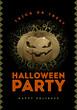 Obrazy na płótnie, fototapety, zdjęcia, fotoobrazy drukowane : Halloween Party Poster