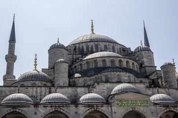 Moschea blu, nel chiostro - Istanbul