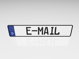 Kennzeichen - E-Mail