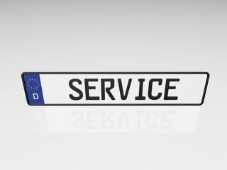 Kennzeichen - Service