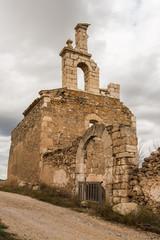 Restos de la Iglesia de San Bartolomé. Moya. Cuenca. España