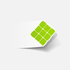 realistic design element: ketupat