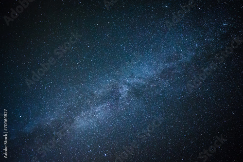 Leinwanddruck Bild Milky Way