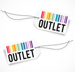 Outlet tag