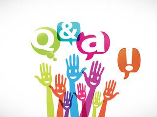 groupe mains souriantes : q & a !