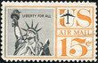 United States Airmail Postage Stamp