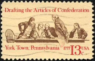 Members of Continental Congress in Conference