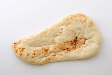 ナン インド料理 パン 白背景