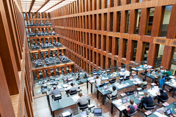 Humboldt University Library in Berlin, Germany