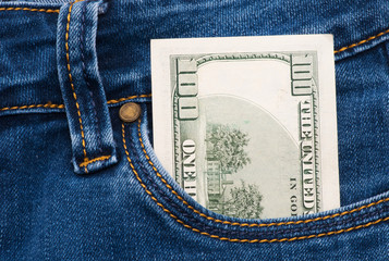 cash in pocket