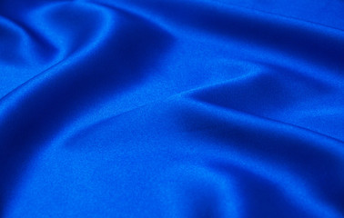 Abstract blue background luxury cloth