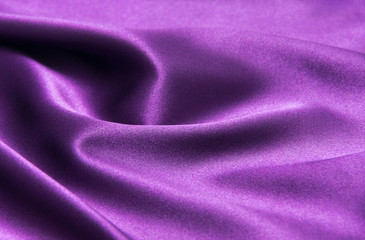 purple satin fabric