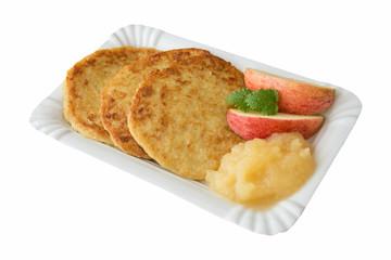 3 Kartoffelpuffer