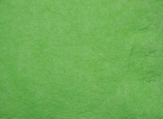 Background of green felt