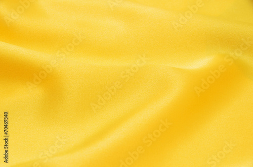 Deurstickers Stof yellow satin
