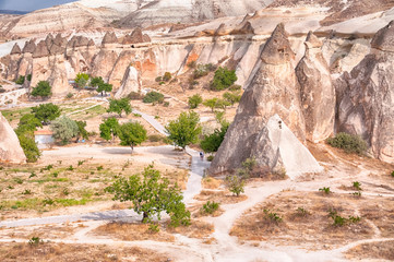 fireplaces of fairies in cappadocia