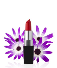 Lipstick and Flower