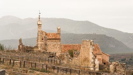 Iglesia de Santa María La Mayor. Moya. Cuenca. España