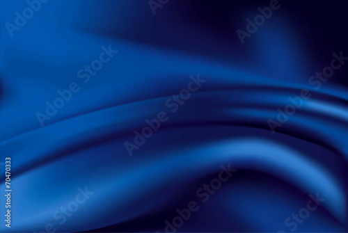 Vector of blue silk background - 70470333