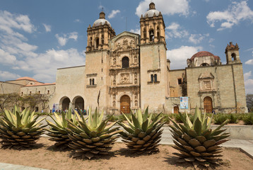The Santo Domingo church in Oaxaca city