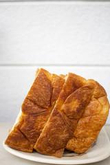 Japanese premium bun long squre Danish bread mild